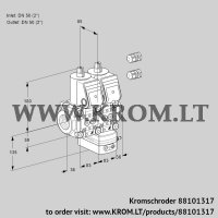 Pressure regulator VCD3E50R/50R05ND-25WR3/PPPP/PPPP (88101317)