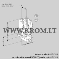 Pressure regulator VCD1E20R/20R05FND-25WR3/PPPP/PPPP (88101321)
