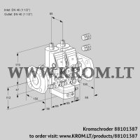 Air/gas ratio control VCG2E40F/40F05NGEVWR3/PPPP/PPPP (88101387)