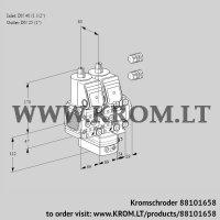 Air/gas ratio control VCG2E40F/25R05FNGEVWR3/PPPP/PPPP (88101658)