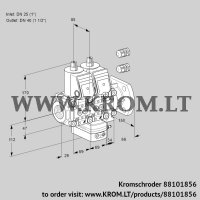 Air/gas ratio control VCG2E25R/40F05NGEVWR3/PPPP/PPPP (88101856)