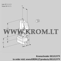 Pressure regulator VAD1E15R/25R05FD-100WR/PP/PP (88101979)