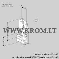 Pressure regulator VAD1E20R/20R05FD-100WR/PP/PP (88101980)
