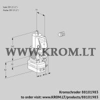 Pressure regulator VAD1E25R/25R05FD-100WR/PP/PP (88101983)