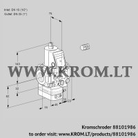 Pressure regulator VAD1E15R/25R05D-100VWR/PP/PP (88101986)