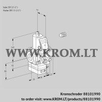 Pressure regulator VAD1E25R/15R05D-100VWR/PP/PP (88101990)