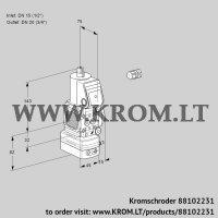Air/gas ratio control VAG1E15R/20R05FGEWR/PP/PP (88102231)