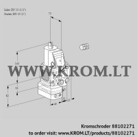 Air/gas ratio control VAG1E15R/25R05FGEVWR/PP/PP (88102271)