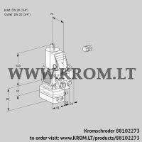 Air/gas ratio control VAG1E20R/20R05FGEVWR/PP/PP (88102273)