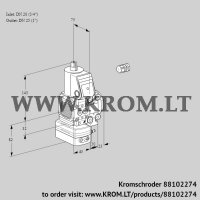 Air/gas ratio control VAG1E20R/25R05FGEVWR/PP/PP (88102274)