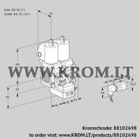 Pressure regulator VCD1T25N/15N05FND-50QSL/PPPP/3-PP (88102698)