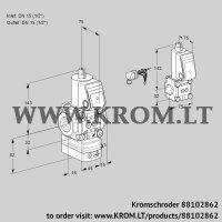Air/gas ratio control VAG1E15R/15R05GEWR/PP/ZS (88102862)