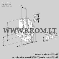 Air/gas ratio control VCG2E25R/25R05NGEVWR6/2--3/PP3- (88102947)