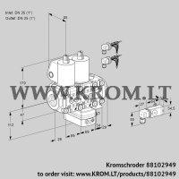 Air/gas ratio control VCG2E25R/25R05NGEVWL6/PP3-/2--3 (88102949)