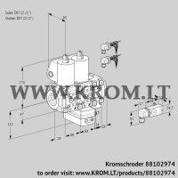 Air/gas ratio control VCG2E25R/25R05NGEVWL6/PP3-/2--3 (88102974)