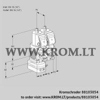Pressure regulator VCD1T15N/15N05FD-50NQSR/PPPP/PPPP (88103054)