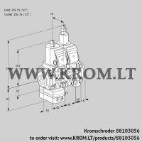 Air/gas ratio control VCG1T15N/15N05GALVQSR/PPPP/PPPP (88103056)