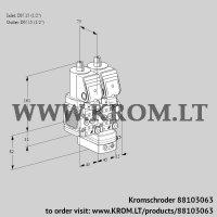 Pressure regulator VCD1T15N/15N05FND-50QSR/PPPP/PPPP (88103063)
