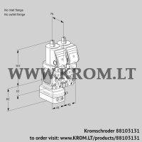 Pressure regulator VCD1T--/--05FD-50NQSR/PPPP/PPPP (88103131)