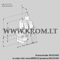 Air/gas ratio control VCG1T15N/20N05GALVQR/PPPP/PPPP (88103405)