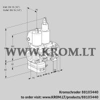 Air/gas ratio control VCG1T15N/15N05GALVQGL/PPPP/PPPP (88103440)