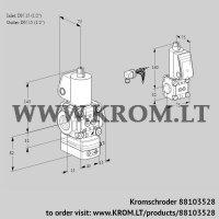 Air/gas ratio control VAG1E15R/15R05GEWL/ZS/PP (88103528)
