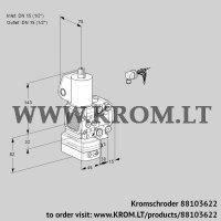 Air/gas ratio control VAG1E15R/15R05FGEVWL/PP/PP (88103622)