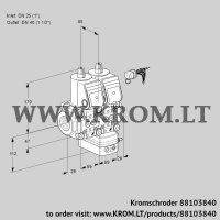 Air/gas ratio control VCG2E25R/40R05NGNWR/PPPP/PPPP (88103840)