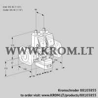Air/gas ratio control VCG2E40F/40F05NGEWR/PPPP/PPPP (88103855)