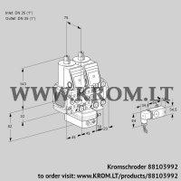 Air/gas ratio control VCG1T25N/25N05FNGKVQR/2--3/PPPP (88103992)