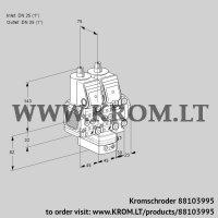Air/gas ratio control VCG1T25N/25N05FNGKVQR/PPPP/PPPP (88103995)