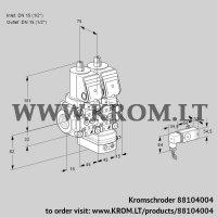 Air/gas ratio control VCG1T15N/15N05NGAQGR/PPPP/2-PP (88104004)