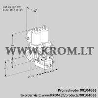 Air/gas ratio control VCG2T40N/40N05NGKKSL/PPPP/MMPP (88104066)