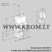 Pressure regulator VCD3T50N/50N05D-50NQSL/PPZS/PPPP (88104071)