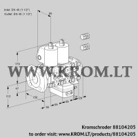 Air/gas ratio control VCG2E40F/40R05NGEVWL3/PPPP/PPPP (88104205)