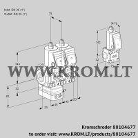 Air/gas ratio control VCG1T25N/25N05GANQR/PPPP/PPZS (88104677)