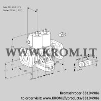 Air/gas ratio control VCG2E40F/40F05NGEWL/PPPP/-3PP (88104986)
