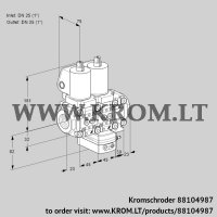 Air/gas ratio control VCG1T25N/25N05NGAVQSL/PPPP/PPPP (88104987)