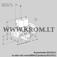 Air/gas ratio control VCG2E40F/40F05NGEWL/PPPP/PPPP (88105012)