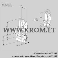 Air/gas ratio control VAG1E20R/20R05GEQR/PP/BS (88105557)