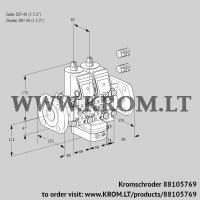 Air/gas ratio control VCG2E40F/40F05NGEVWR3/PPPP/PPPP (88105769)