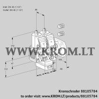 Air/gas ratio control VCG2E40F/40F05FNGEVWR3/PPPP/PPPP (88105784)