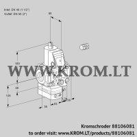 Pressure regulator VAD3E40R/50R05D-50VWR/PP/PP (88106081)