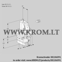 Pressure regulator VAD3E50R/50R05D-25VWR/PP/PP (88106091)