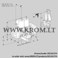 Air/gas ratio control VCG2E40F/40F05NGEWL/PPZS/PPPP (88106354)