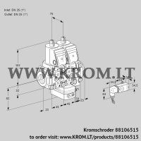 Air/gas ratio control VCG1T25N/25N05NGNVQSR/2-PP/PPPP (88106515)
