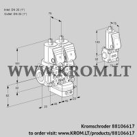 Air/gas ratio control VCG1T25N/25N05NGAQGR/PPPP/PPBS (88106617)