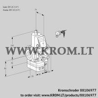 Air/gas ratio control VAG1E20R/20R05GEVWR/PP/PP (88106977)