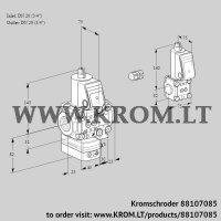 Air/gas ratio control VAG1E20R/20R05GEVWR/PP/ZS (88107085)