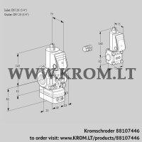 Air/gas ratio control VAG1E20R/20R05GEWR/PP/BS (88107446)